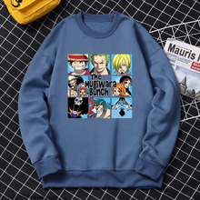 Hoodies Clothing Crewneck Anime One-Piece Streetwears Harajuku Funny Fleece Autumn Loose