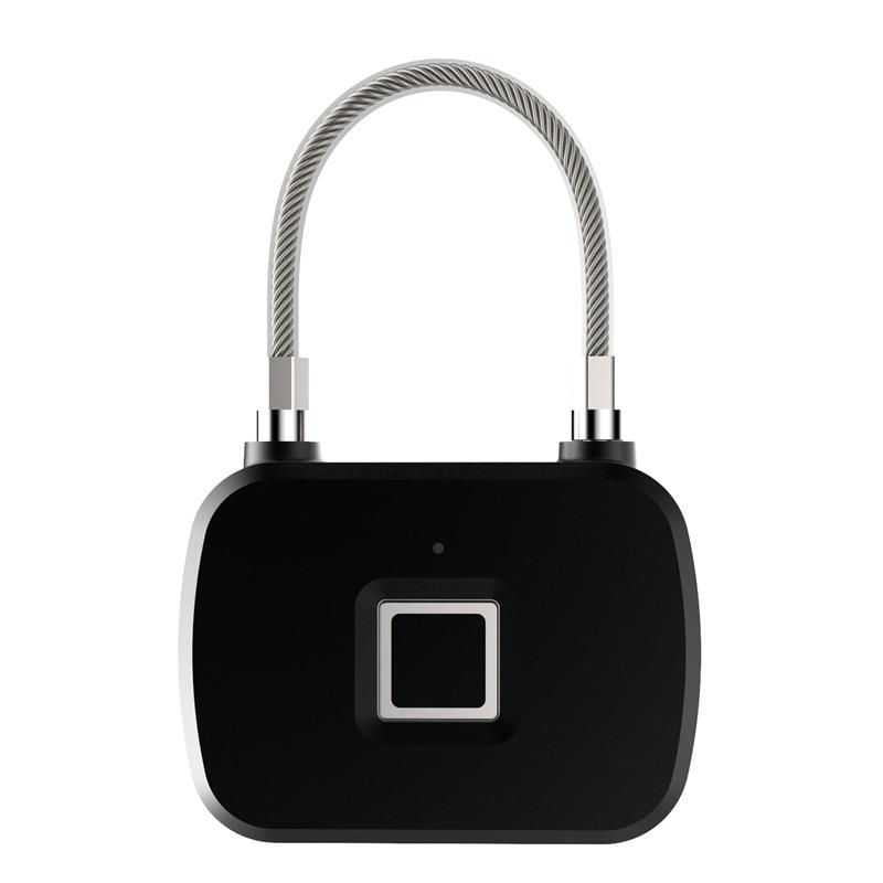L13 Fingerprint Lock Smart Keyless Anti-Theft Padlock For Travel Suitcase Bicycle Portable Smart Padlock
