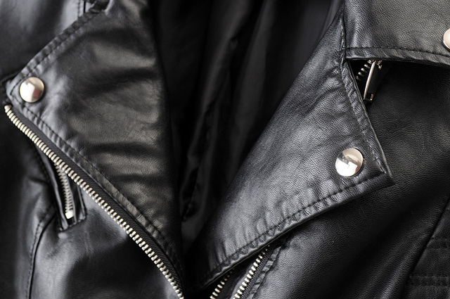 Smooth Motorcycle Leather Jackets  4
