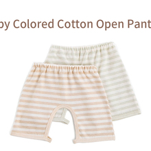 Pants Open-Crotch Cotton Summer with Colored Spring Trouser Boys Children Leggings Girls