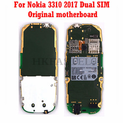 For Nokia 3310 2017 Dual SIM Card Motherboard replace Mobile Phone Motherboard English Russian Hebrew language + Tool