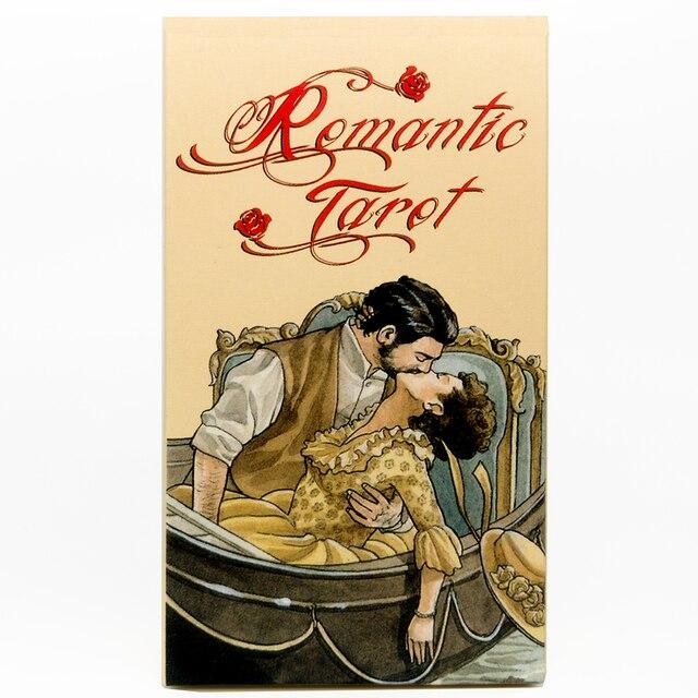 Romantic Tarot Cards Nouveau Tarot  Occult Tarot Roses Lenormand Tarot of the Divine Tarot Deck Card Games 3