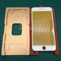 Precision aluminium mould For iphone 6 plus 6s plus front glass with frame position laminating display screen machine use mold Phone Repair Tool Sets    -