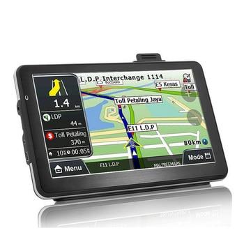 Car Gps Navigation7 Inch Quad Core 256-8Gb Voice Conversion Car Gps Navigation Car Lifetime Map Free Update