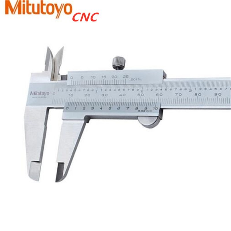 Dial Caliper with 6 Inches Measuring Range Stainless Steel 0-150mm CNC