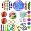 Fidget Toys Stretchy Strings Push Ball Anti Stress Set Adults Pinch Squishy Sensory Antistress Relief Autism ADHD Figet Toys