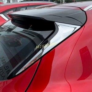 Image 1 - Chrome רכב האחורי אחורי חלון ספוילר כנף כיסוי Trim למאזדה CX30 CX 30 DM 2020 2021
