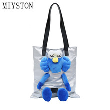 2019 Women Handbag PU Leather Cartoon Doll Crossbody Bags Fashion High Quality Female Messenger Bag Bolsos Mujer Sac a Main
