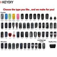 5 teile/los  original KEYDIY B01 B02 B07 B09 B25 B17 B11 Universal Fernbedienung Schlüssel B Serie für KD900 +  URG200 KD X2|Autoschlüssel|   -