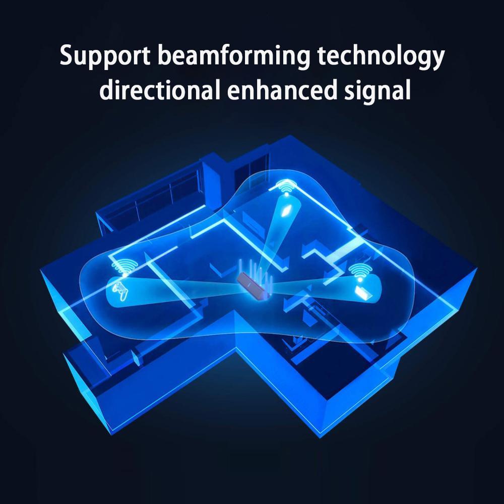 2021 Xiaomi AX3600 AIoT Router Wifi 6 Dual-Band 2976Mbs Gigabit Rate Security Encryption Mesh Wifi External Signal Amplifier 5