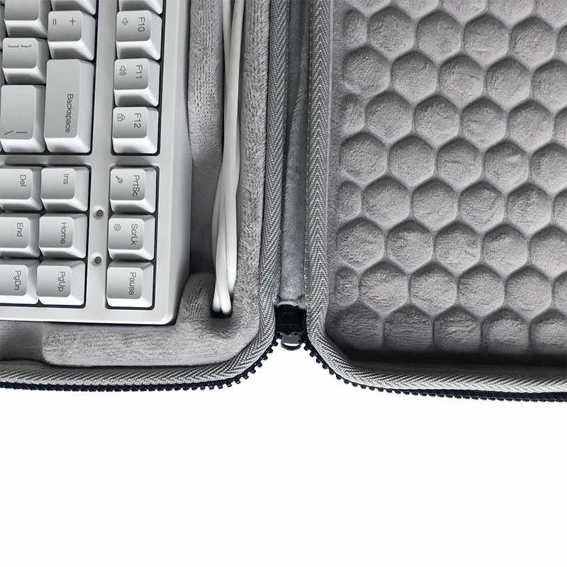 2020 Baru Fashion Tahan Air Pelindung Kotak Keras Membawa Casing Shell untuk IKBC C87 W200 Teknik Keyboard Case Penyimpanan