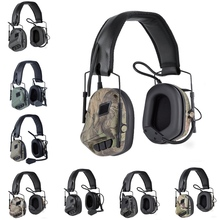 (Tactical) Headphone Noise Cancellation Pickup Headset Hunting Shooting Game Accessories adaptive noise cancellation