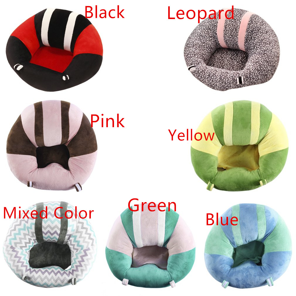 Portable Size Newborn Baby Seats Sofa Support Chair Sofa Dining Safety Soft Cotton Plush Travel Car Seat Pillow Cushion Hot