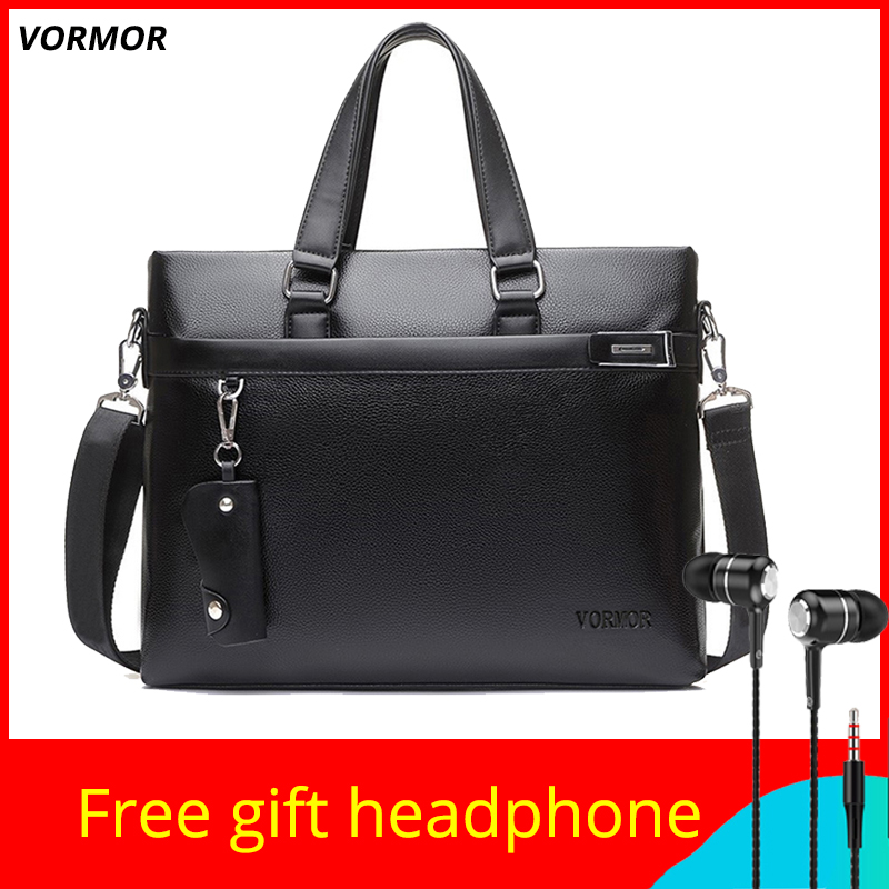 VORMOR Brand 2019 Men Shoulder Bag Business Briefcase Messenger Bags Computer Laptop Handbag Bag For Male