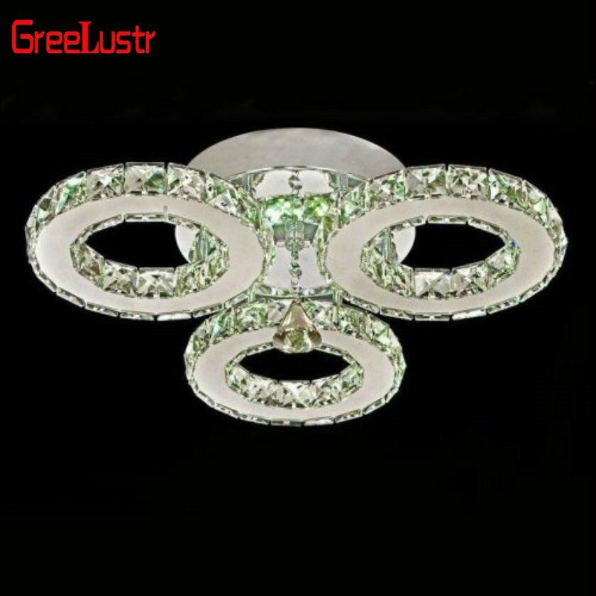 lustre de teto cristal iluminacao 3 aneis 01