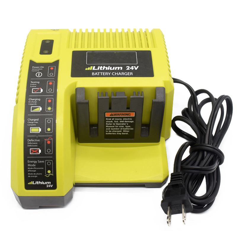 For Ryobi 24 Volt Lithium Battery Charger Power OP140 Tested & Working