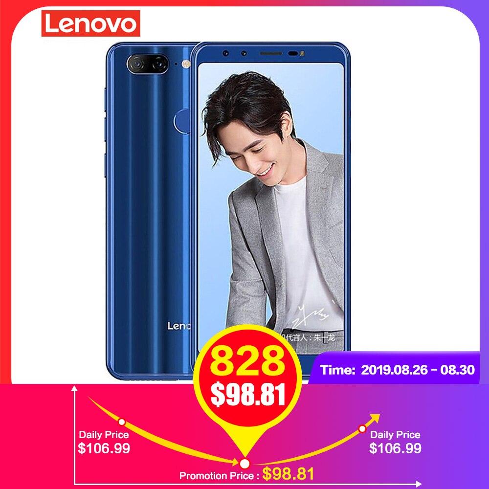 Lenovo K9 4G Smartphone 5.7 ''Android 8.1 Octa Core 2.0GHz MTK6762 32 4GB de RAM GB ROM quad Câmera Digital 3000mAh Móvel