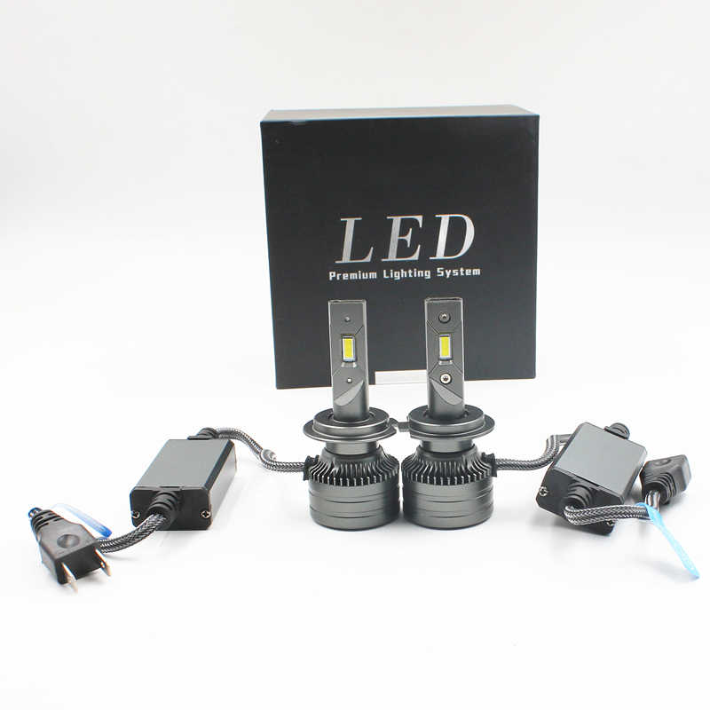 80W 10000LM F3S Auto Led H4 Koplampen Lamp H7 H11 H8 9005 9006 9004 9007 H1 Auto Led Koplamp kit Fog Lamp F3S Led Koplampen