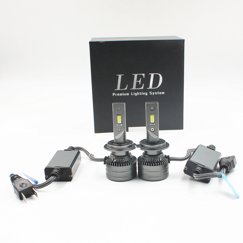 80W 10000LM F3S Car LED H4 Headlights Bulb H7 H11 H8 9005 9006 9004 9007 H1 Car LED Headlamp Kit fog lamp F3S LED headlights image