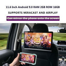 Car-Headrest Android Touch-Screen 1080P 4K 2GB 16GB Usb/sd/hdmi-/..