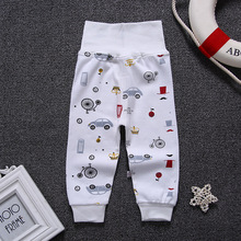 CYSINCOS Babys Boys Girls Pants Print Pattern Cotton Baby Trousers Sports Harem Kids For Newborn Girl Boy Clothing