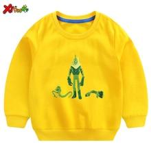Boys Sweatshirts Kids Clothes Ben10  Girl Sweatshirt Hoodie White Cotton Pullover Tee 2019 Autumn Long Sleeve Baby Children