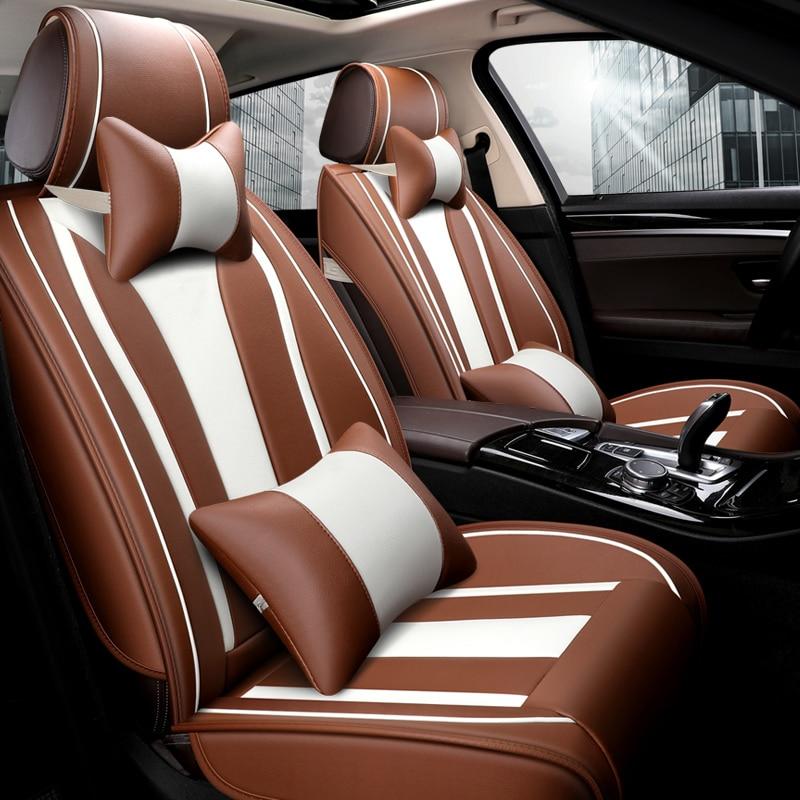VOLKSWAGEN Passat-Resistente Negro Resistente Al Agua Simple Cubierta de asiento de coche 1 Delantero