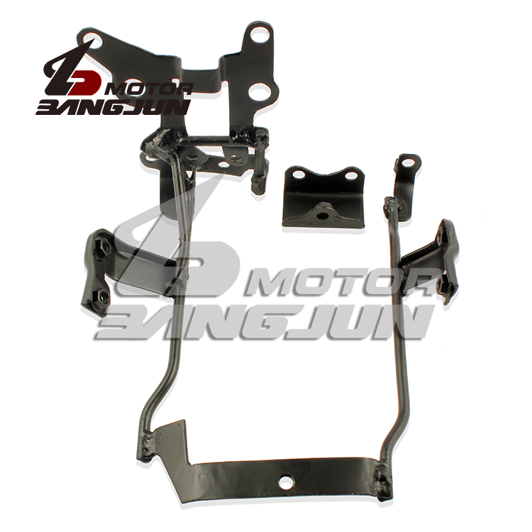 Motorcycle Headlight Bracket Universal Mount Stand Instruments Support For YAMAHA FZ6N FZ6S 2004-2005-2006