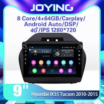 "DSP Carplay 9"" Android 8.1 Car Stereo Multimedia Radio Player for Hyundai IX35 Tucson 2010-2015 GPS SPDIF Subwoofer DVR WiFi DAB"