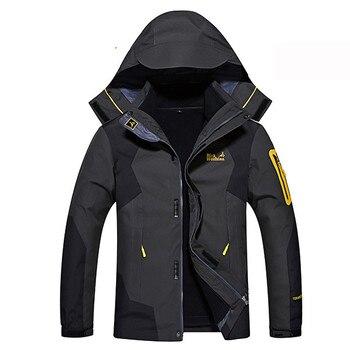 Russia Winter Ski Jacket Men Waterproof Snow Jackets Thermal Coat For Outdoor Mountain Skiing Snowboard Jacket Plus Size 6XL 8XL