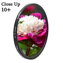 KnightX Macro close up 10+ Camera Lens Filter For Canon eos Sony Nikon d80 18-200 d600 2000d 400d 49 52 55 58 62 67 72 77 mm