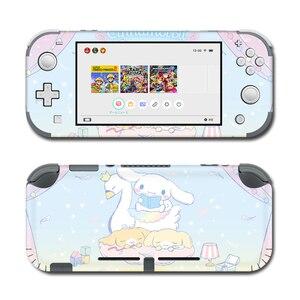 Image 4 - Vinil ekran cilt defne köpek Skins koruyucu çıkartmalar Nintendo anahtarı için Lite NS konsolu Nintendo anahtarı Lite Skins