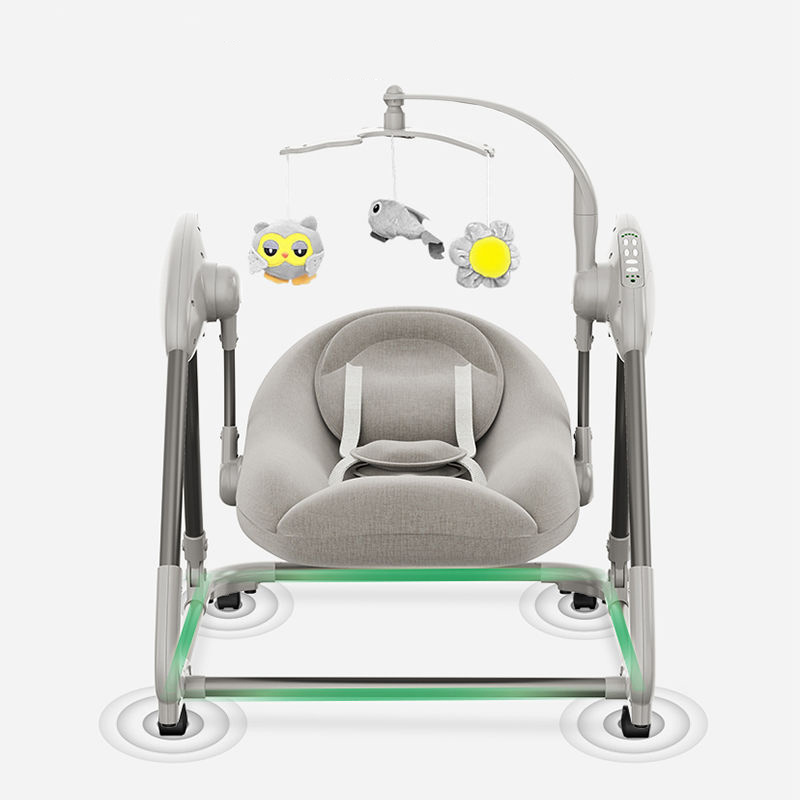 Electric Rocking Chair 0-3y Baby Home Recliner Cradle Bed with Baby To Sleep Parents Coax Baby Assistant Newborn Soothing Chairs