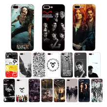 TV series Shadowhunters soft phone case for iphone X XR 11 pro xs max 6s 6 7 8 plus 5s se 5 10 luxury TPU cover shell Funda nbdruicai american tv series shadowhunters black soft shell phone case for iphone 11 pro xs max 8 7 6 6s plus x 5s se xr case