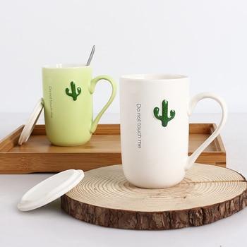 Nordic Couple Mug Breakfast Print Ceramic Creative Smoothie Reusable Coffee Mug Unique Office Koffie Kopjes Drinkware DE50MK