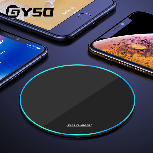 30W Wireless Charger For iphone 12 Mini 12 Pro Max 8 Plus Qi Wireless Charging Pad For Samsung S9 S10+ Note 9 Wireless Chargers