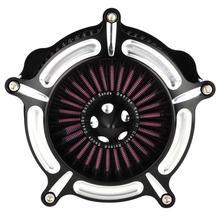 Luft Reiniger Intake Filter Motorrad Änderung Air Filter Intake Induction Kit Passt für XL 883 1200 Motor Zubehör
