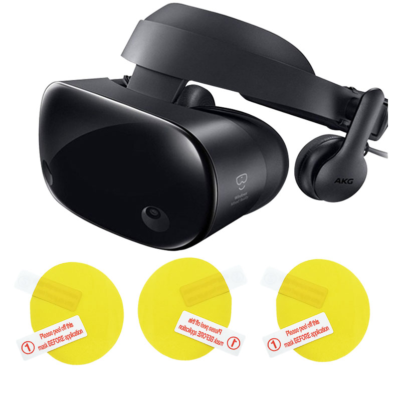 For Samsung Electronics HMD Odyssey + Windows Mixed Reality Headset Use It To Protect VR Lens, 3pcs Protective Layer