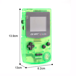 Image 4 - GB Boy handheld game console players Boy portable retro arcade game video game console With Backlit 66 Built in Games