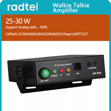 Radtel VR P25 25 30W ווקי טוקי מגבר תמיכה אנלוגי ודיגיטלי רדיו BaoFeng UV 5R UV 82 TYT MD UV380 MD 380
