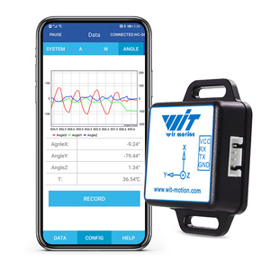 BWT61CL High-Precision Bluetooth Accelerometer+Gyroscope+Angle(XYZ, 100HZ), 6-Axis MPU6050 AHRS Inclinometer, Support PC/Android(China)
