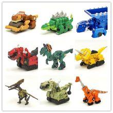 Liga dinotrux dinossauro caminhão removível dinossauro brinquedo carro liga modelos de carro mini brinquedo