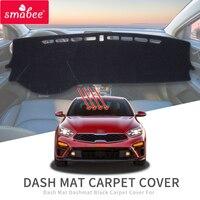 Smabee Dash Pad Dashmat dla KIA Forte 2019 2020 BD Anti slipmata pokrywa deski rozdzielczej parasolka Dashmat dywan Cerato K3 akcesoria w Maty antypoślizgowe od Samochody i motocykle na