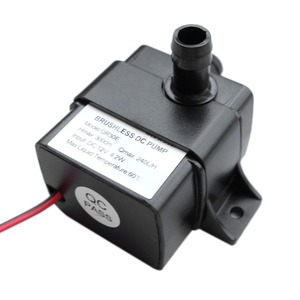 DC 12V Waterproof Brushless Pump 4.2W 240L/H Flow Rate Submersible Water Pumps Ultra-quiet Mini Water Pump QR30E 2017new