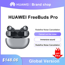 Original Global Version HUAWEI Freebuds Pro Smartearphone Qi Wireless Charge ANC Function For Mate 40 Pro P30 Pro
