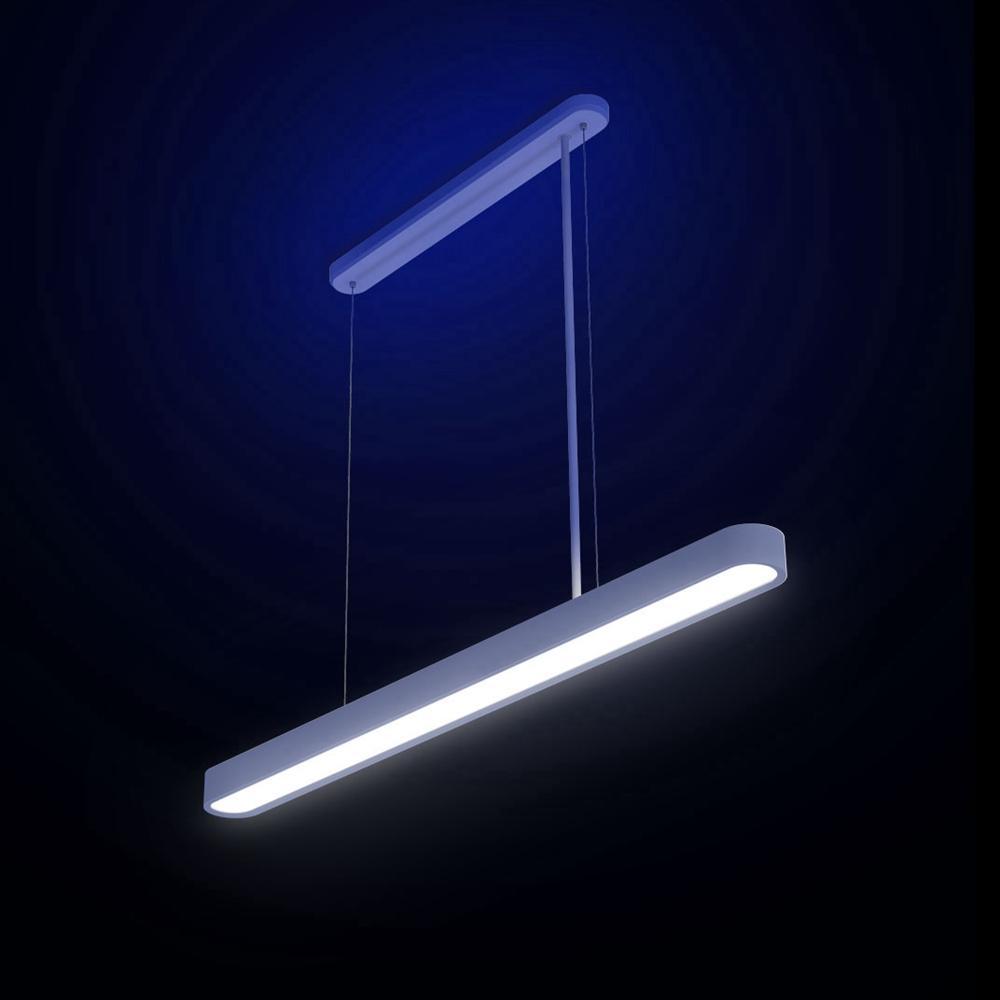 Yeelight inteligente led pingente lâmpada jantar luzes suporte app controle remoto colorido atmosfera para sala de jantar restaurante - 2