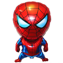 1pc Babyshower Birthday Party Foil Balloons Spiderman Aluminium Air Ballons Decorations Kids Toys
