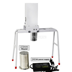 Household 304 Stainless Steel Dough Press Machine Electric Noodle Maker 2.0/2.5/3mm Round 1.5x4mm Flat Noodle Making Machine