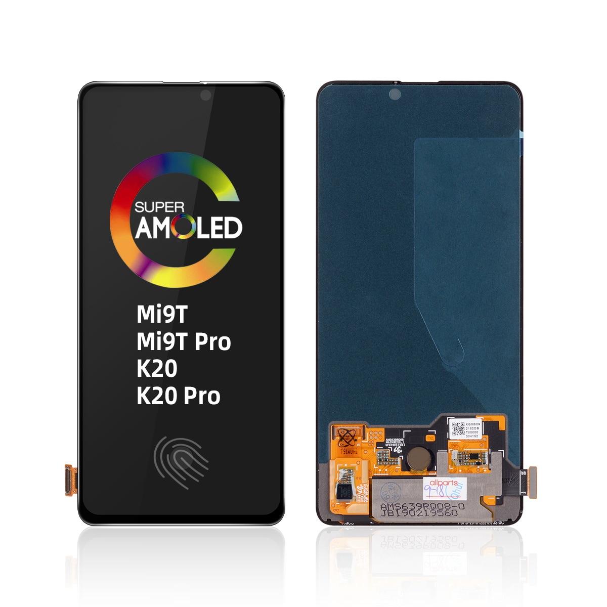 Mi 9T Pro ЖК дигитайзер ЖК-экран оригинальный для Xiao mi Red mi K20 Pro ЖК-дисплей с рамкой Ksio mi Xio mi с рамкой для Xiao mi M