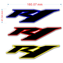 цена на Motorcycle Stickers 3D Decals For Yamaha R1 YZF-R1 YZF 1000 Logo Badge Label Emblem Fairing Body Tank Pad 2017 2018 2019 2020